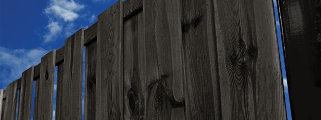 Zwart Behandeld Naaldhout